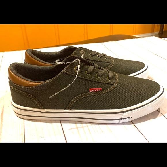 Men's Levi's Sz 9.5 Ethan Denim LL Casual Shoes